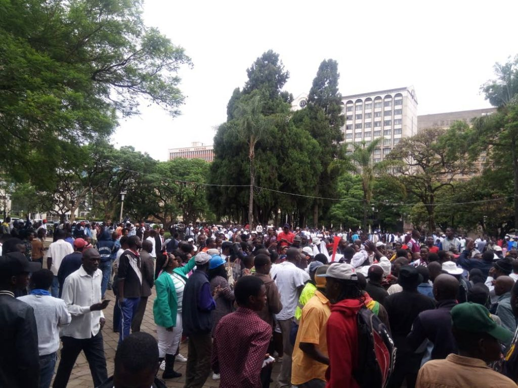 """""""We Are Definitely Unmoved By Such Threats,"""" MDC Demos To Continue"""